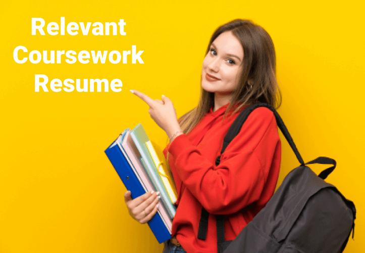 Relevant Coursework Resume